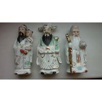 Три китайских бога