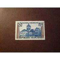 Франция 1959 г.Коммуна Авен-сюр-Эльп.