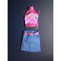 Одежда для Барби: юбка+топ