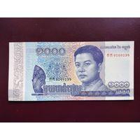 Камбоджа 1000 риэлей 2016 UNC