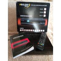 Спутниковый ресивер Golden Media uni-box 9080 crci hd pvr combo