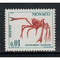 Монако /1964/ Фауна / Японский Краб-Паук / ЧИСТАЯ