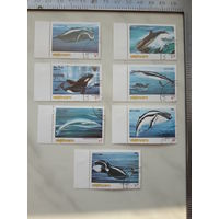 Марки Вьетнам киты набор 7 марок