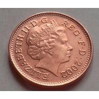 1 пенни, Великобритания 2002 г.