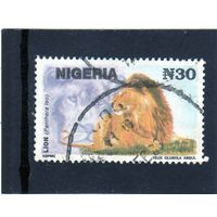 Нигерия.Ми-610.Лев.1993.