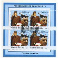 Гвинея-Бисау-Шарль де Голь -2001г