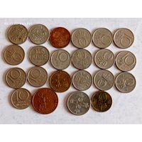 Монеты Норвегии с рубля.