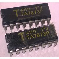 TA7673P. Аналог UPC1057C ECG1611 UPC1057 TA7673
