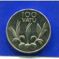 Вануату 100 вату 2008 UNC