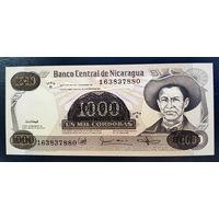 РАСПРОДАЖА С 1 РУБЛЯ!!! Никарагуа 500000 кордоба надпечатка на 1000 1985 год UNC