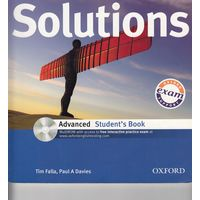 Solutions - Advanced - Tim Falla & Paul A Davies. Student`s book and Workbook + MultiROM