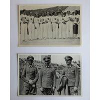 Олимпиада 1936 г. Третий Рейх. Две карточки из группы номер 60, отличное состояние...