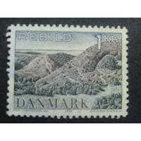 Дания 1972 ландшафт