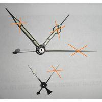 Стрелки авиационных АЧС-1 60ЧП ( авиационные часы часов деталь )