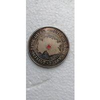 Настольная  немецкая медаль Красный крест