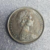 G Австралия 5 центов 1981 г. УТКОНОС
