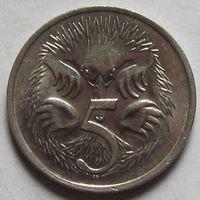 5 центов 1975  Австралия