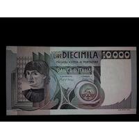 Италия. 10 000 лир 1982г. UNC