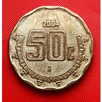 14-21 Мексика, 50 сентаво 2004 г.