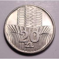 """Польша, 20 злотых 1973 год, """"Колосья"""" (есть года 73, 74, 76)"""