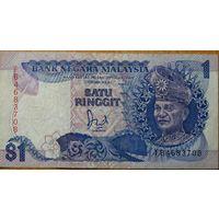 Малайзия. 1 ринггит 1989 года P27b XF