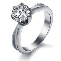 Шикарное кольцо с большим камнем 8.6 мм