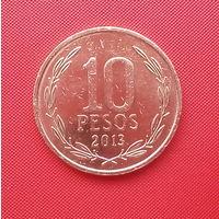 64-32 Чили, 10 песо 2013 г.