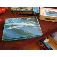 Конструктор самолет миг-19