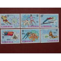 Либерия 1976г. спорт