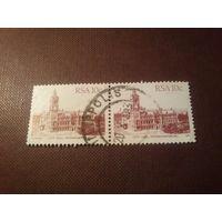 Южно-Африканская Республика 1982 г.Питермарицбург.Сцепка.