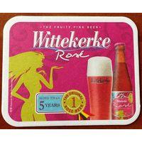 Подставка под пиво Wittekerke No 2