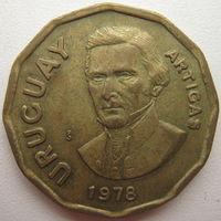 Уругвай 1 новое песо 1978 г. (d)