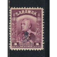 GB Колонии Малайя Саравак 1947 Надп #150*