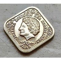 Нидерланды 5 центов, 1979 70 лет со дня рождения Королевы Юлианы 4-1-9