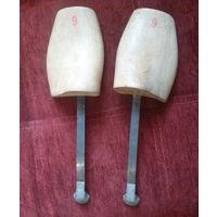 Подпружиненные колодки #6 (или #9) от элитной довоенной обуви (Германия).