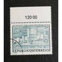 Австрия 1979 г. Открытие Венского международного центра, полная серия из 1 марки #0318-Л1P18