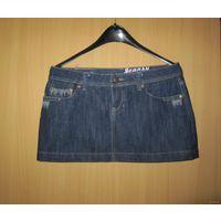 Мини-юбка джинсовая Joansy Jeans, р.XL. Новая