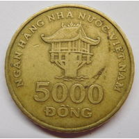 Вьетнам 5000 донгов 2003 г