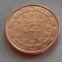 1 евроцент, Португалия 2012 г.