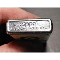 Зажигалка Zippo оригинал 2014 год