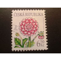 Чехия 2003 цветы, стандарт