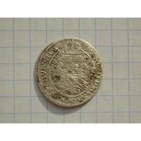 3 крейцера 1695 г. R-! (Редкий портрет этого года)