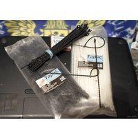 Стяжка (хомут) кабельная многоразовая узелковая 180 мм    (цена за 10 шт)