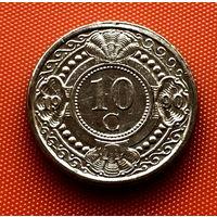 107-12 Антильские острова, 10 центов 1990 г.