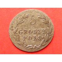 5 грошей 1819 года IB