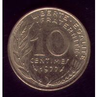 10 сантимов 1977 год Франция