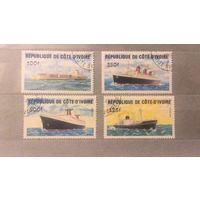 Кот-Дивуар.Флот