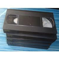 Видеокассеты ТДК чистые новые 5 шт.