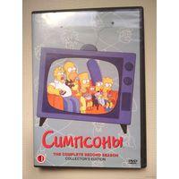 DVD Симпсоны диск 1