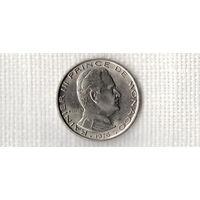 Монако 1 франк 1976 /(Ст)
